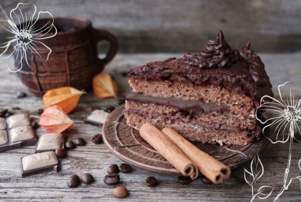 Especial dia das mães: bolo de cappuccino e canela
