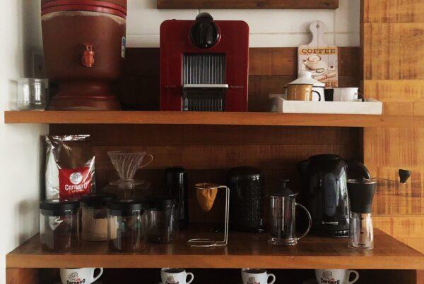 Faça o Cantinho do café na sua casa